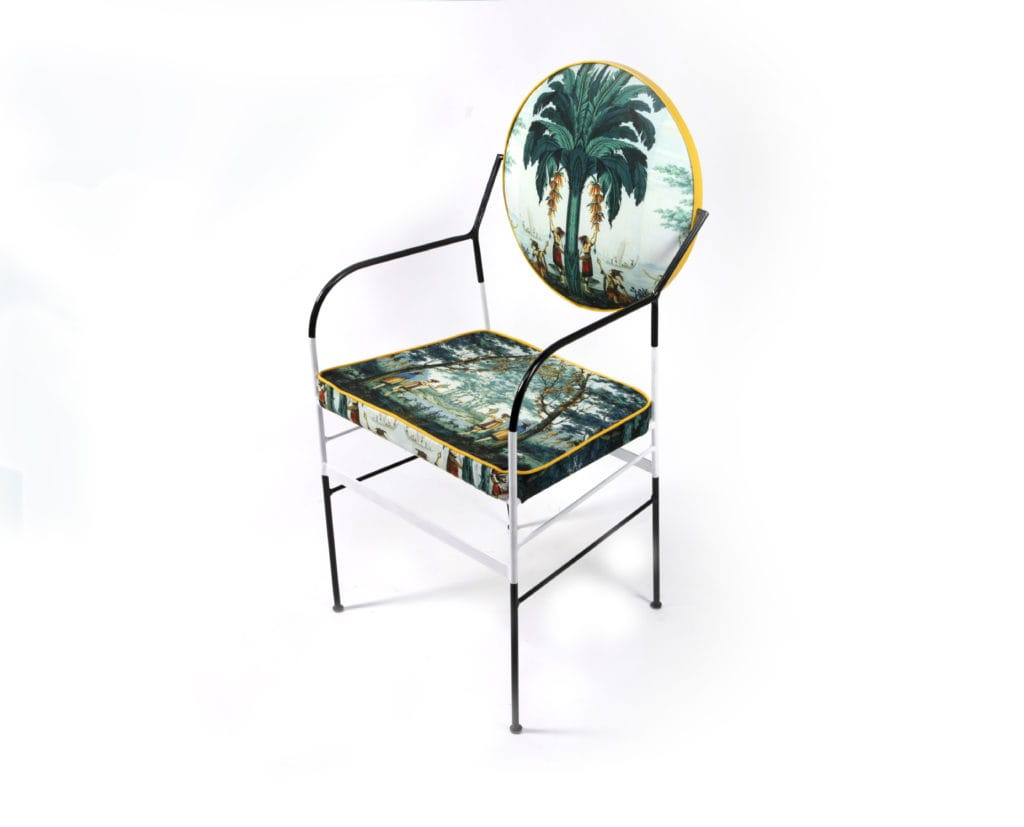 Luigina Exotic Evasion Chair from Sotow