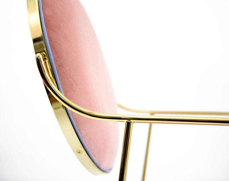 Luigina Pink Queen Chair from Sotow