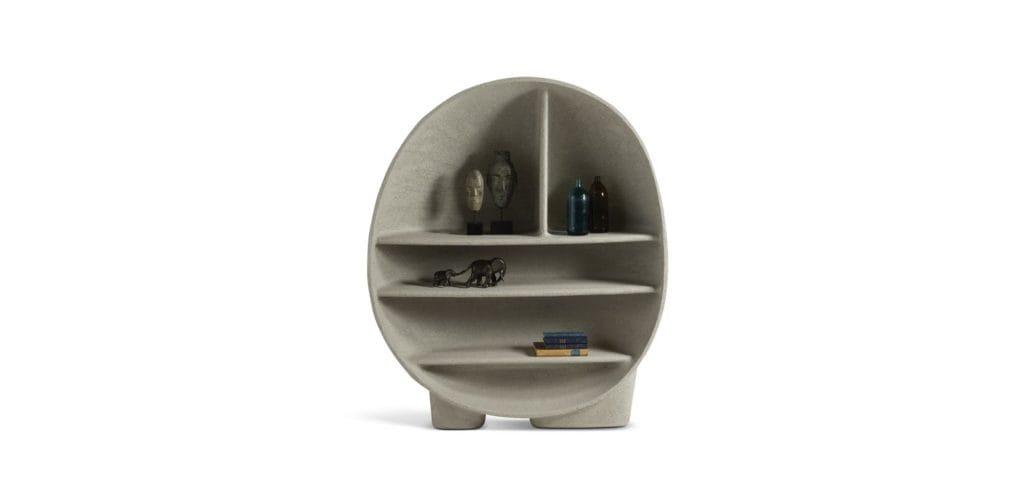 Organic modern Primordial Bookcase by Roche Bobois