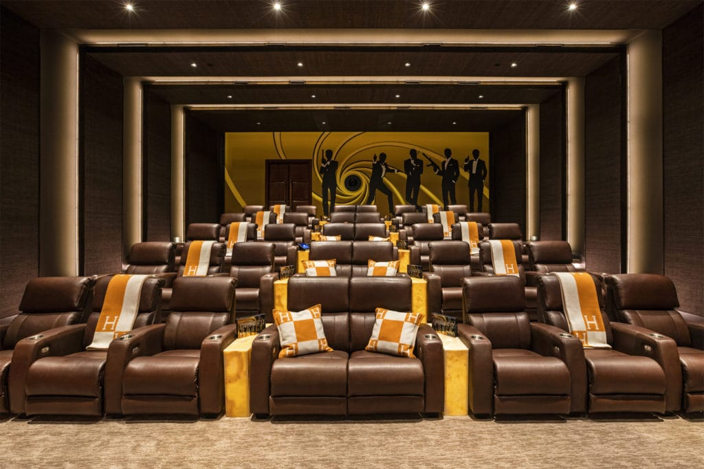 Movie theater at 924 Bel Air Road