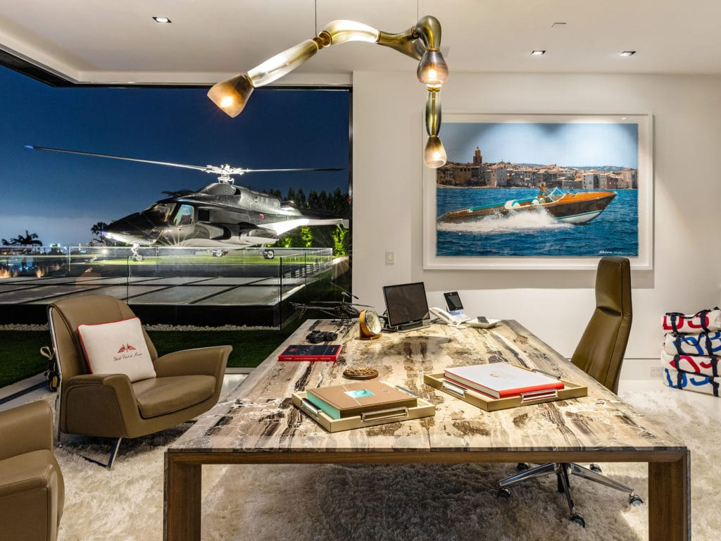 Penthouse office at 924 Bel Air Road