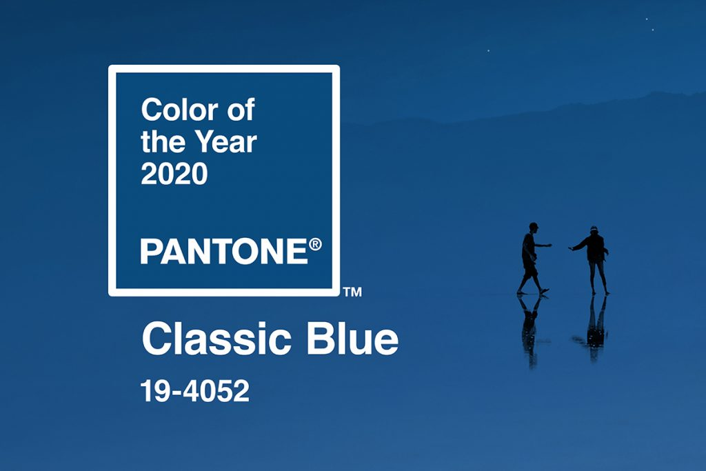 Classic Blue, Pantone's Color of the Year for 2020