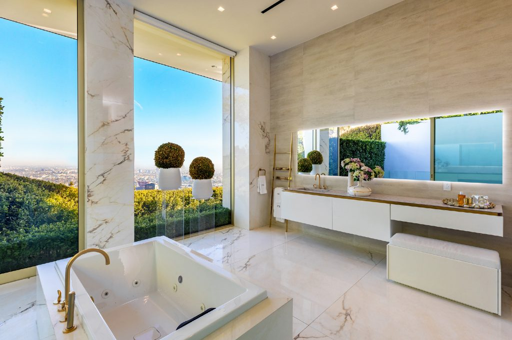Luxurious bathroom inside 1175 Hillcrest Road